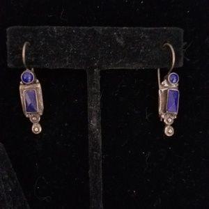 Vintage Jewelry - Blue Earring Set